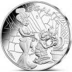 Astérix - 10 euro Egalité LA VAISSELLE