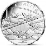 Astérix - 10 euro Egalité LES RAMEURS