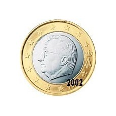 Belgique 1 EURO  2002