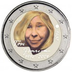 Finlande 2014 - 2 euro commémorative couleur Tove Jansson