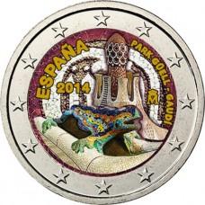 Espagne 2014 - 2 euro commémorative en couleur TYPE 2