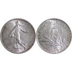 2 Francs Semeuse Argent 1914