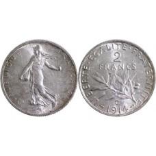 2 Francs Semeuse Argent