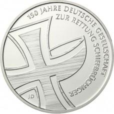 Allemagne 2015 - 10 euro sauvetage en mer