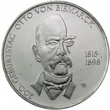 Allemagne 2015 - 10 euro Otto Von Bismarck