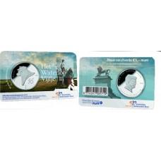 Pays-Bas 2015 - Coincard 5 euro Waterloo