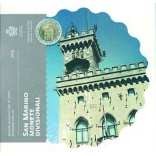 Saint Marin 2015 - Coffret euro BU 8 pièces