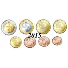 Chypre 2015 - série complète euro neuve