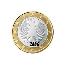 Allemagne 1 EURO  2006 Atelier J