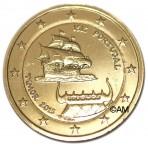 Portugal 2015 - 2 euro commémorative Timor dorée à l'or fin 24 carats