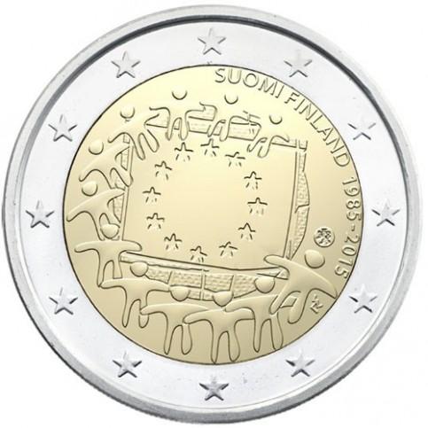 Finlande 2015 - 2 euro commémorative 30 ans du drapeau européen