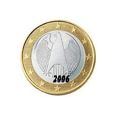Allemagne 1 EURO  2006 Atelier F