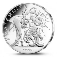 Astérix - 10 euro Fraternité LE BAISER