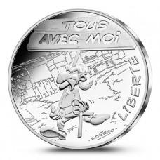 Astérix - 10 euro Liberté BANNIERE