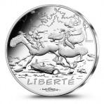 France 2015 Astérix Chevaux - 10 euro Liberté