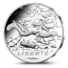 Astérix - 10 euro Liberté CHEVAUX