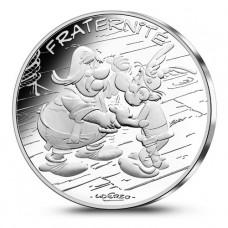 France 2015 Astérix poignée de main - 10 euro Fraternité