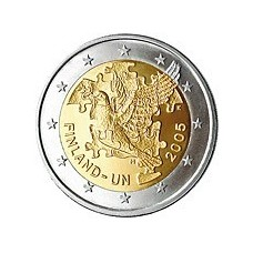 FINLANDE 2005 - 2 EUROS COMMEMORATIVE