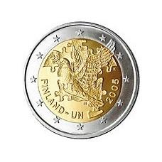 FINLANDE 2005 - 2 EUROS COMMEMORATIVE