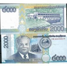 P.9999 Laos  - Billet de 2000 Kip