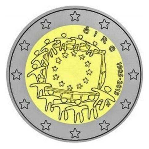 Irlande 2015 - 2 euro commémorative 30 ans du drapeau européen