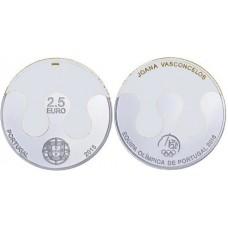 Portugal 2015 - 2.5 euro JO de Rio