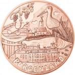 Autriche 2015 - 10 euro Cuivre 'Burgenland'