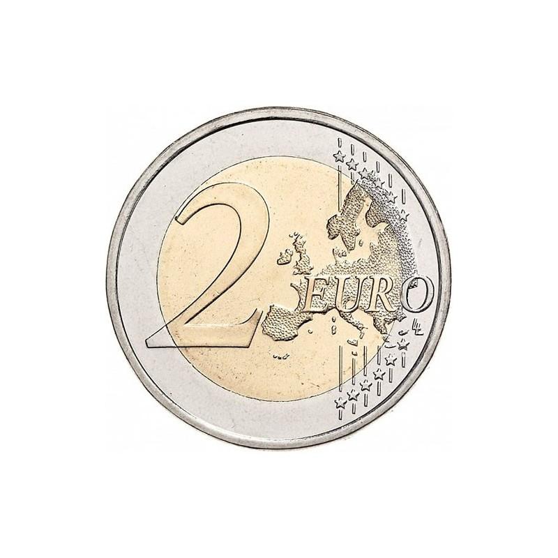 autriche 2015 2 euro comm morative 30 ans du drapeau europ en. Black Bedroom Furniture Sets. Home Design Ideas