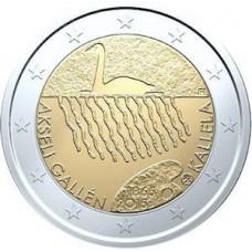 Finlande 2015 - 2 euro commémorative Gallen-Kallela