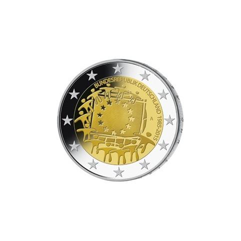 Allemagne 2015 - 2 euro commémorative 30 ans du drapeau européen