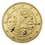 Luxembourg 2015 - 2 euro commémorative 15ème Anniversaire de l'accession Dynastie dorée or fin 24 carats