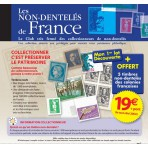La collection des Timbres NON-DENTELES de France