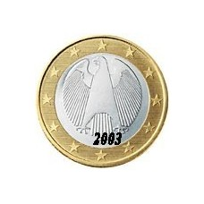 Allemagne 1 EURO  2003 Atelier A