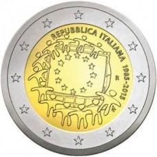 Italie 2015 - 2 euro commémorative 30 ans du drapeau européen