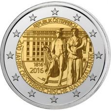Autriche 2016 - 2 euro commémorative banque nationale