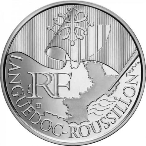 10 Euros des Régions 2010  - Languedoc Roussillon