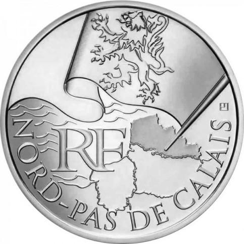 10 Euros des Régions 2010  - Pas de Calais