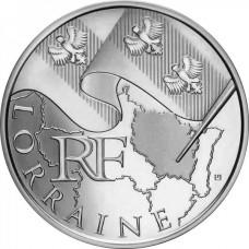 10 Euro des Régions 2010  - Lorraine