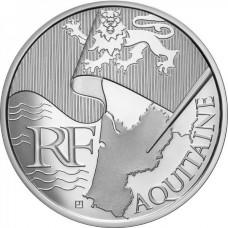 10 Euros des Régions 2010  - Aquitaine