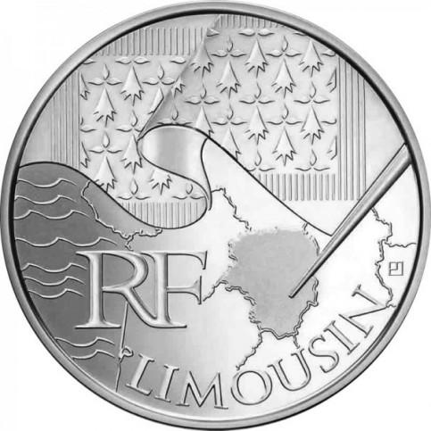 10 Euros des Régions 2010  - Limousin