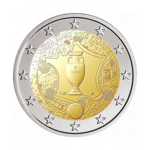 France 2016 - 2 euro commémorative UEFA