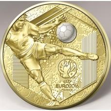 Euro 2016 - 200 euro Or BE