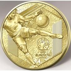 Euro 2016 - 500 euro Or BE