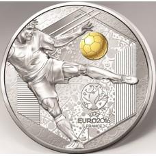 Euro 2016 - 10 euro Argent BE Reprise