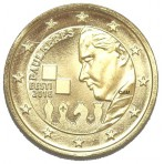 Estonie 2016 - 2 euro commémorative dorée à l'or fin 24 carats  Paul KERES