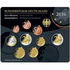 Allemagne 2016 - Coffret euro BU