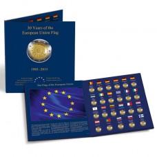 Album pour la série des 2 euro 30 ans du drapeau européen (PRESSO)
