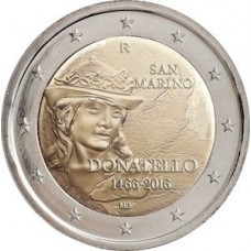 Saint-Marin 2016 - 2 euro commémorative Donatello