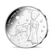 Le PETIT PRINCE - 50 euro argent Le Prince et le mouton