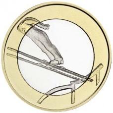 """Finlande 2016 - 5 euro """"saut à ski"""""""